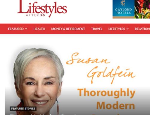 Palm Beach author, blogger, Susan Goldfein, expands her reach by 400k!